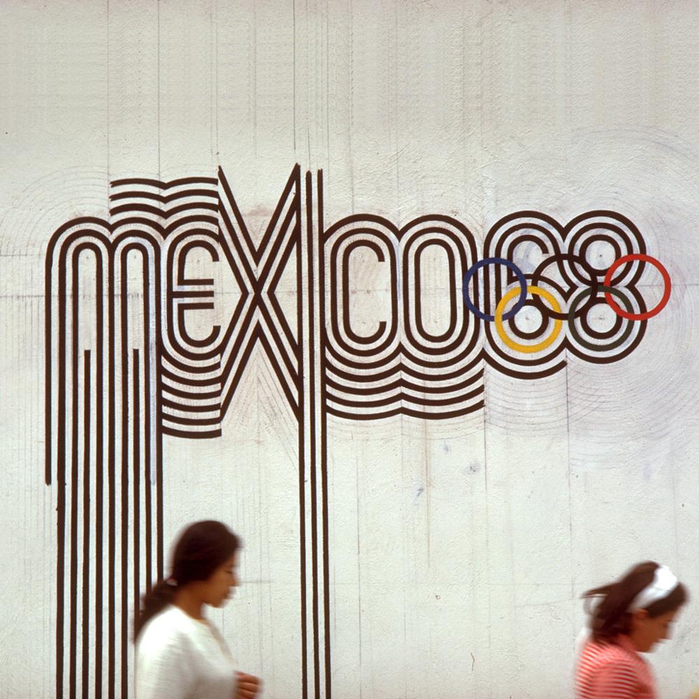 Mexico Olympics 1968 Branding