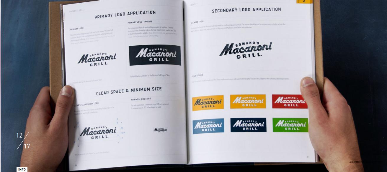 Macaroni Gril Brand Book