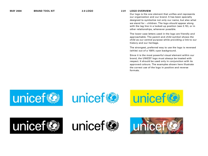 Unicef Branding Toolkit