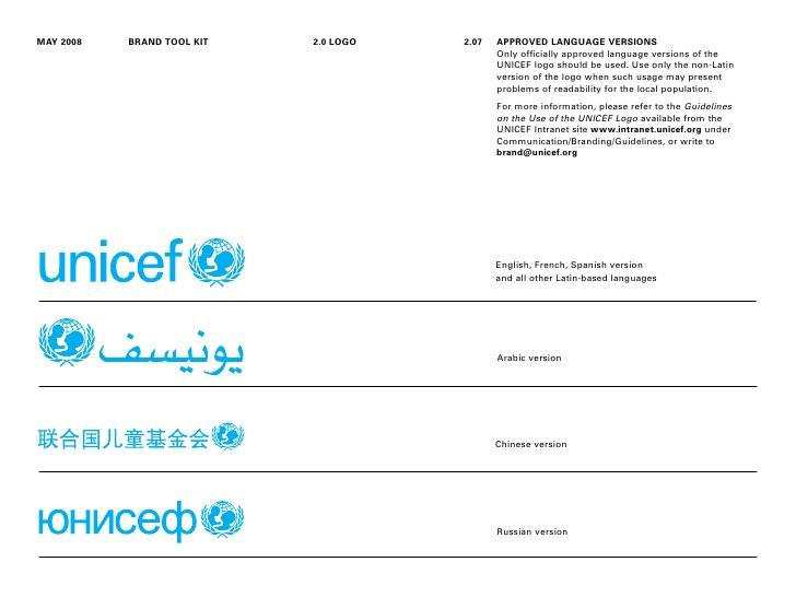 Unicef Brandint Toolkit