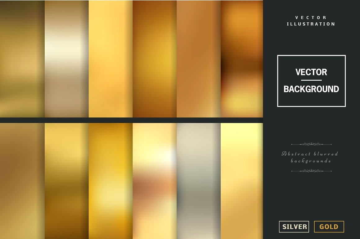 Colorful Blurred Vector Backgrounds
