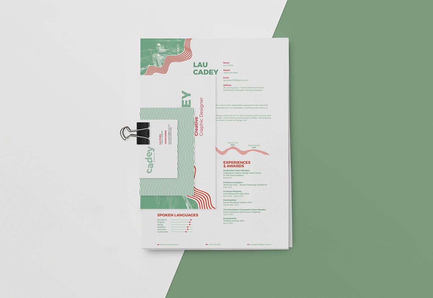 Lau Cadey Personal Branding CV & Portfolio