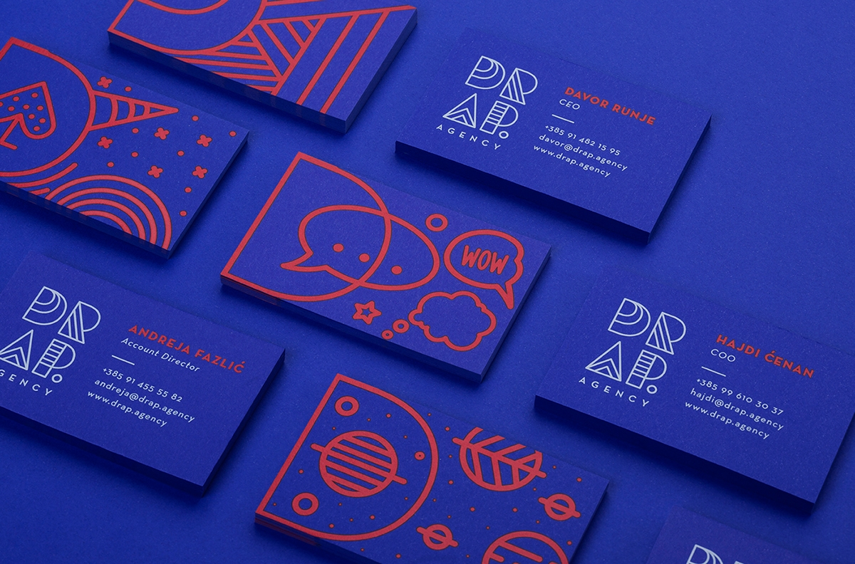 Drap Agency Business Card