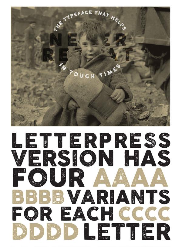 Cocogoose Letterpress Variant