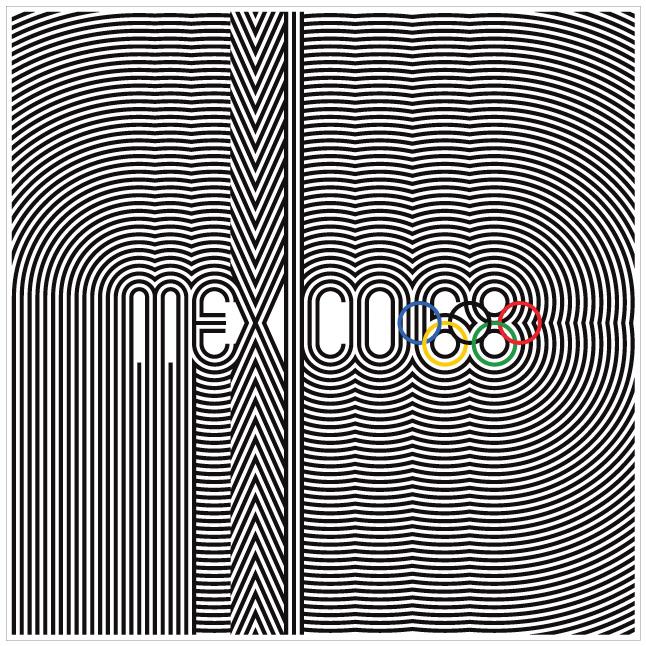 mexico 68 olympics logo1