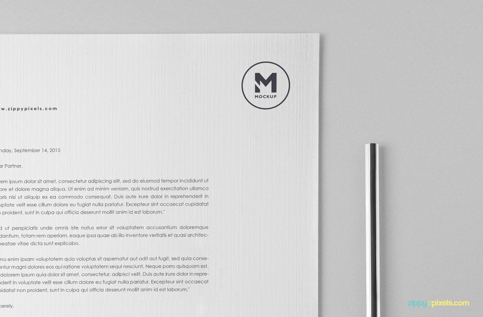 Simple & Free Stationery Mockup Set