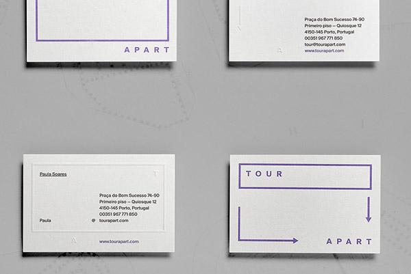 Tour Apart Branding