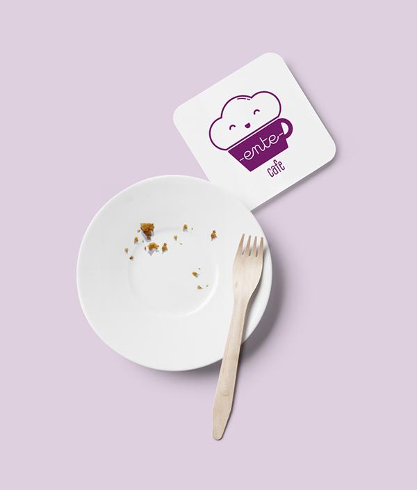 Ente Cafe Branding