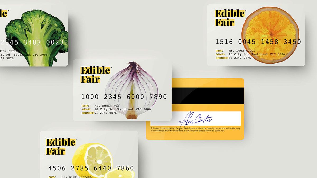 Edible Fair Branding