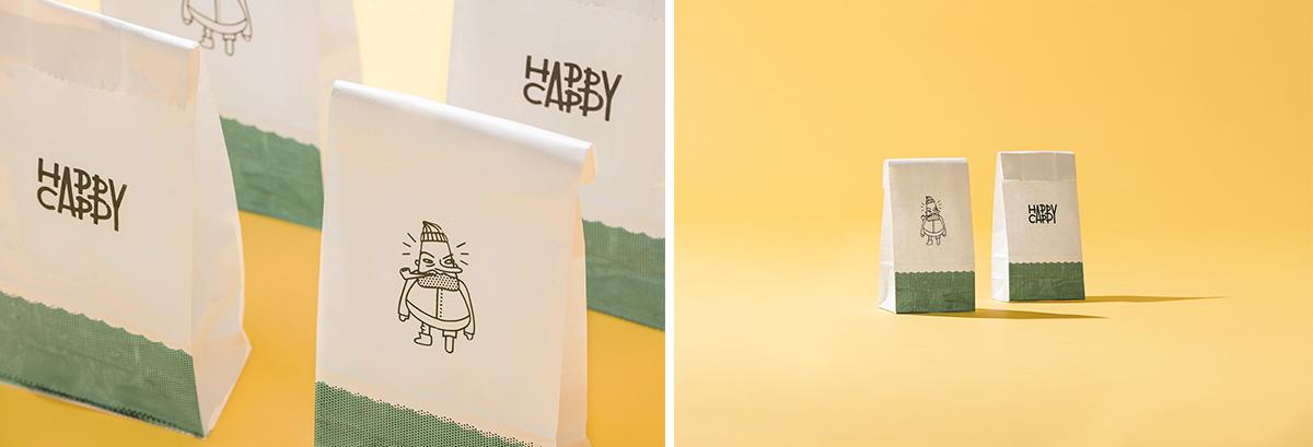 Happy Cappy Branding