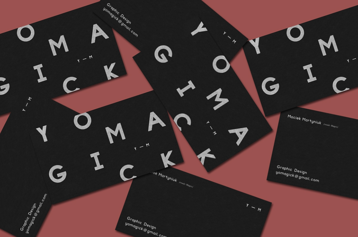 Yomagick Business Card