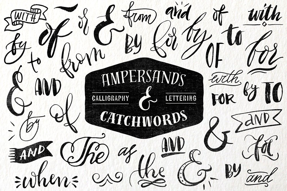 Ampersands & Catchwords