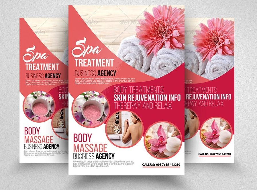 Beauty & Spa Flyer Template