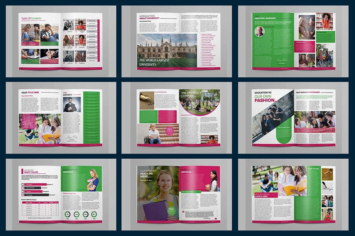 free 19  tips for college magazine designs in ms word