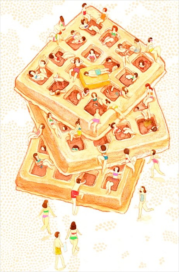 Comfort Food A Series of Food Illustrations