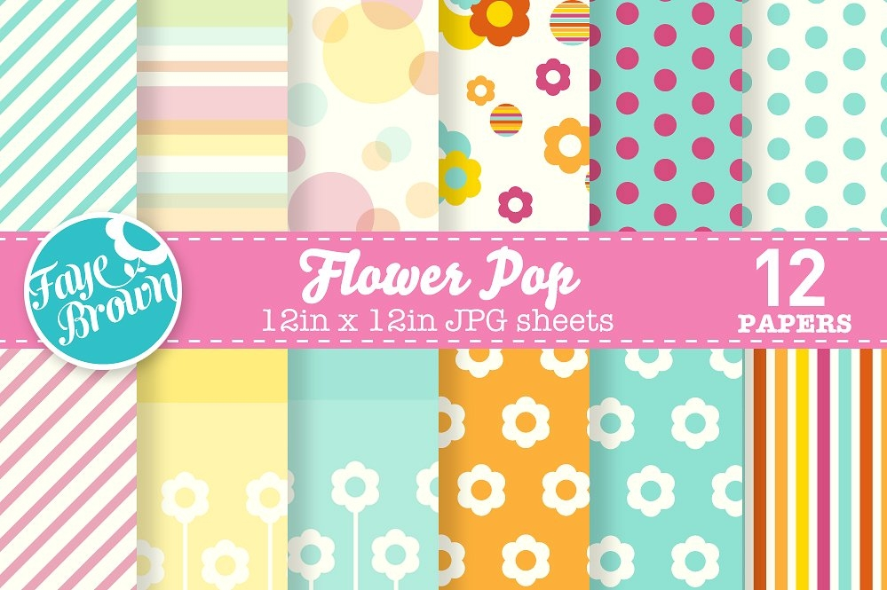 Digital Paper Patterns