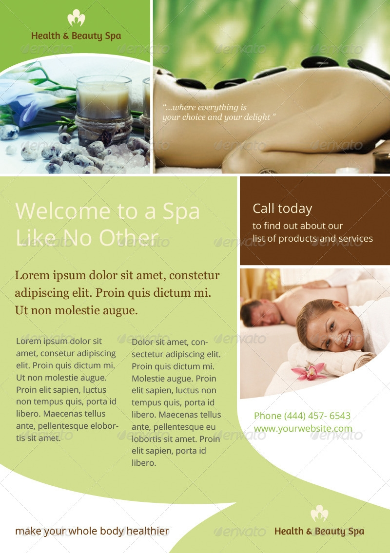 Elegant Spa Flyer
