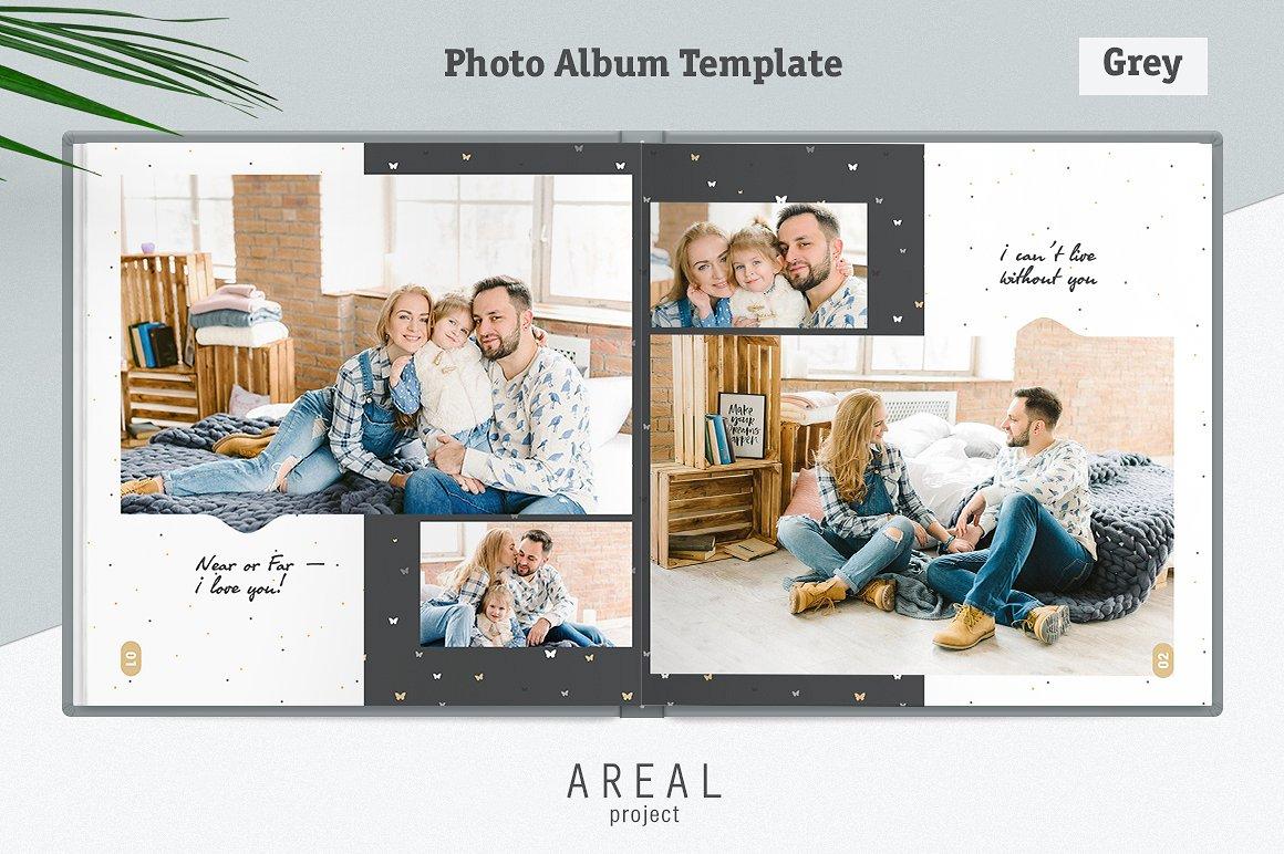 Family Photo Album Template