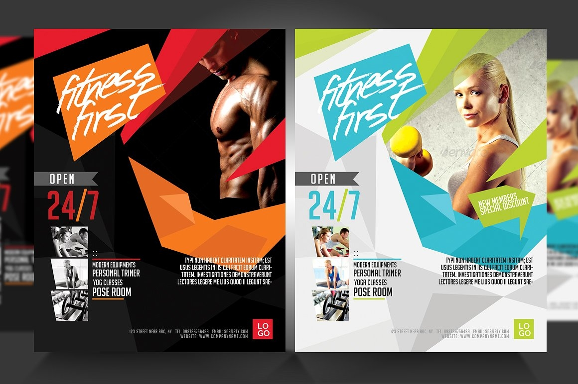 Fitness First Gym Flyer