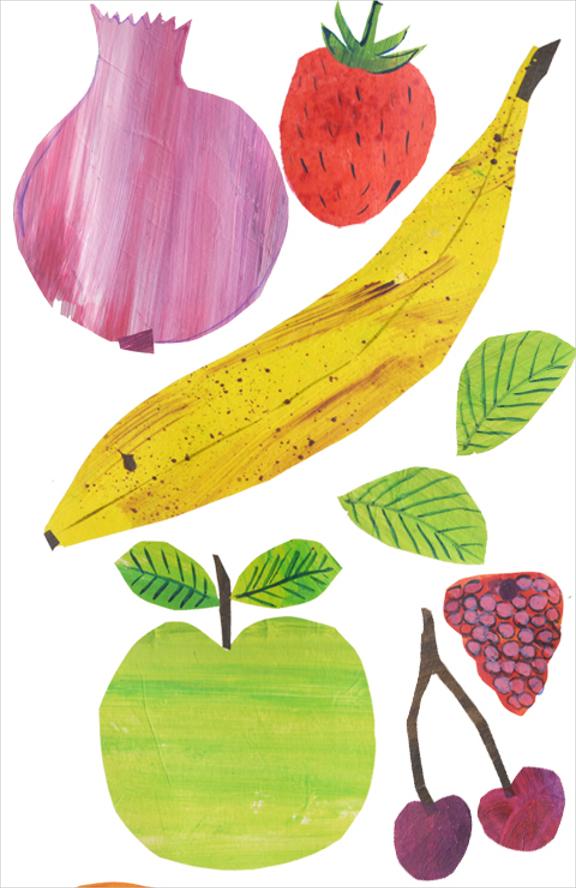 Fruit Salad Illustrationn