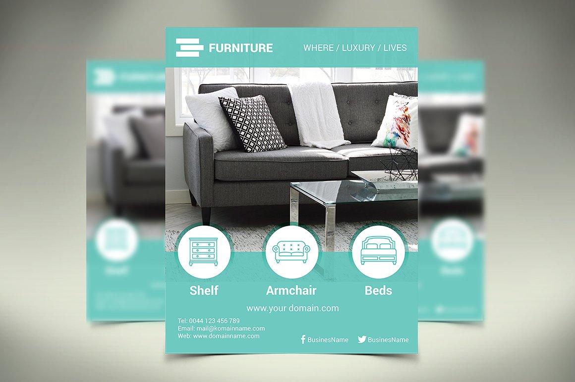 Furniture Design Flyer
