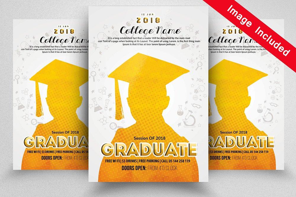 Graduate Announcement Flyer