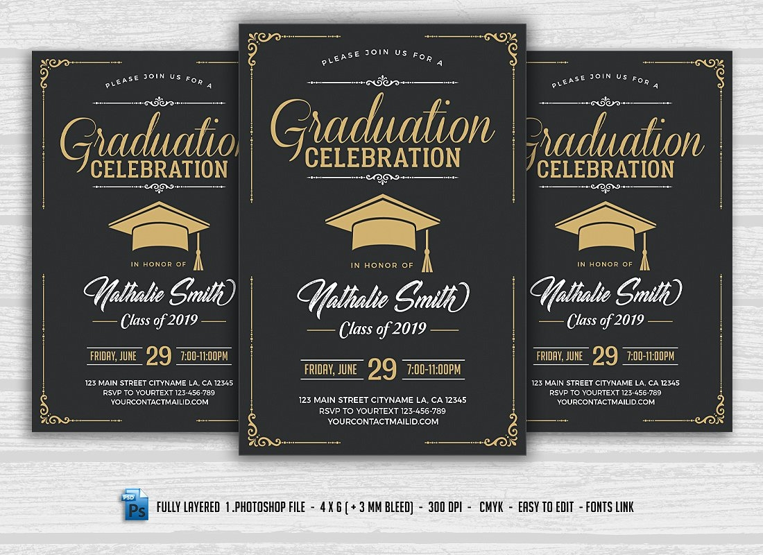 15+ Graduation Flyer Designs