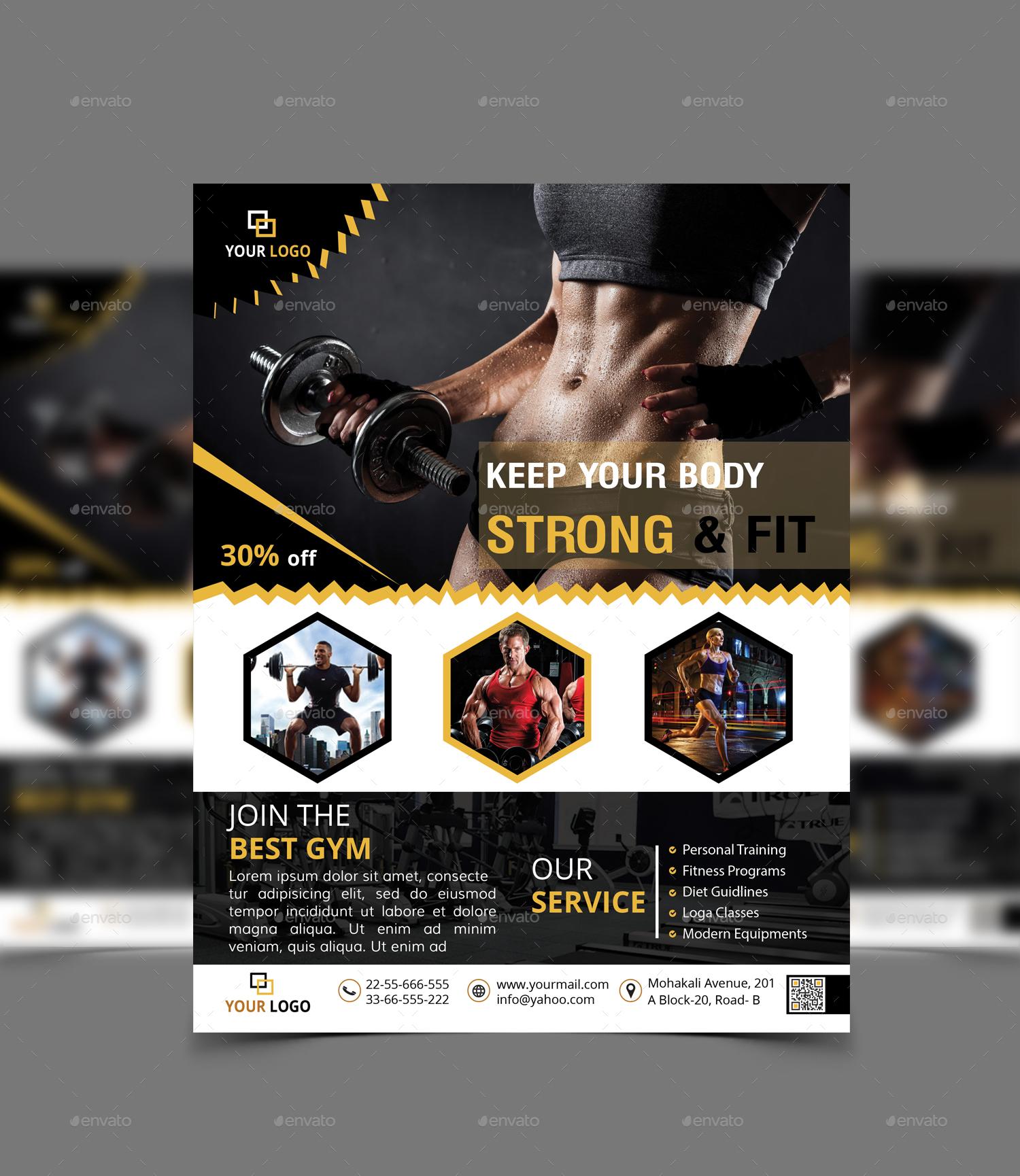 Gym Flyer Bundle_2