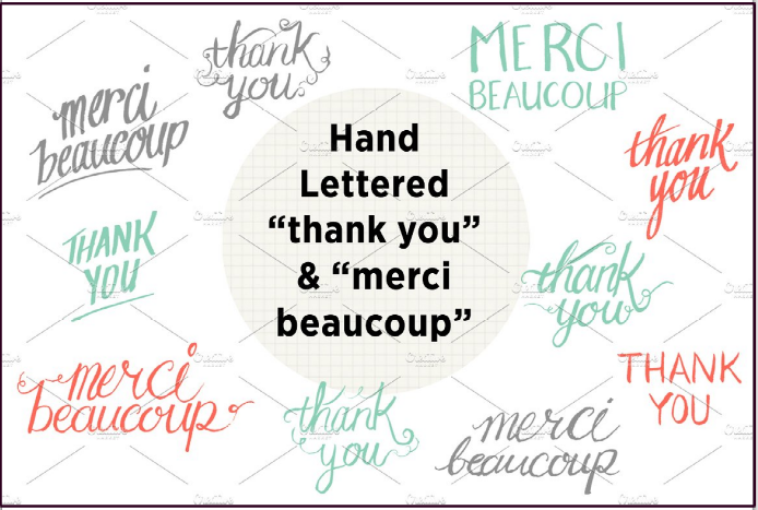Hand Lettering - Thank You