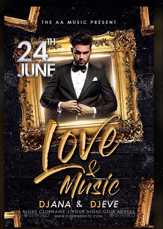 Love & Music Flyer