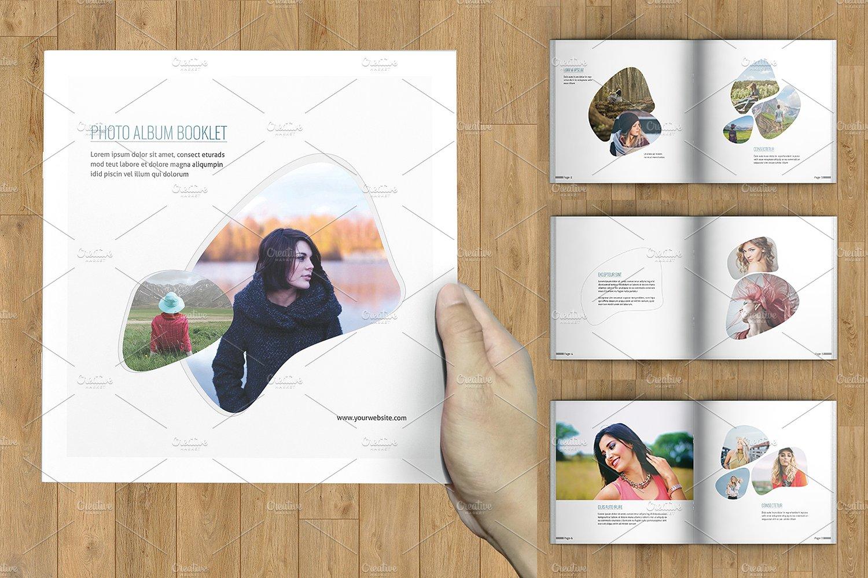 Photo Album Booklet Template