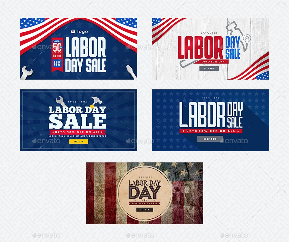Labor Day, Social Media Pack