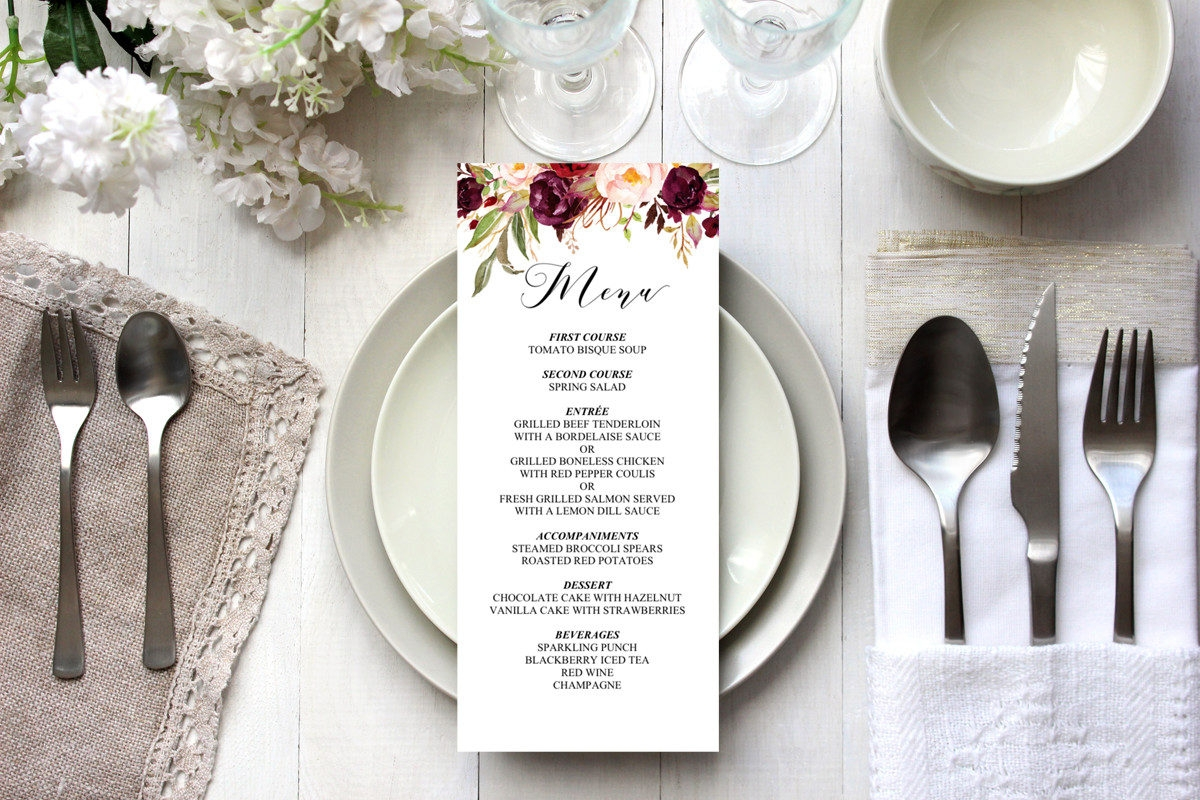 9 essential restaurant menu design tips for Table table restaurant menu