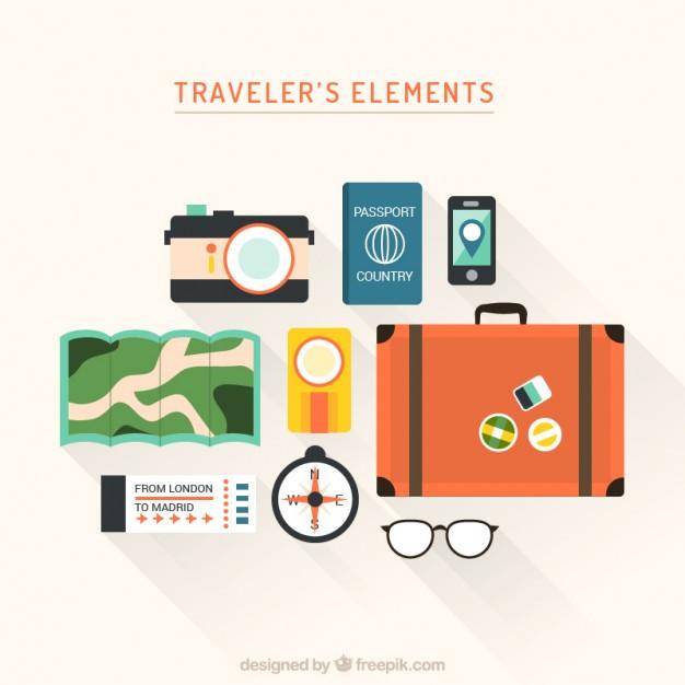 Traveler's Elements Icons