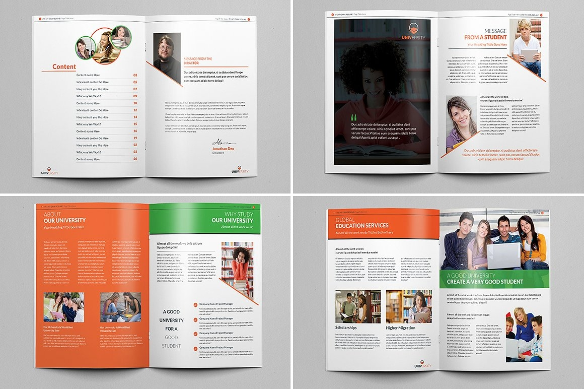 University Prospectus Magazine (Pages 1-8)