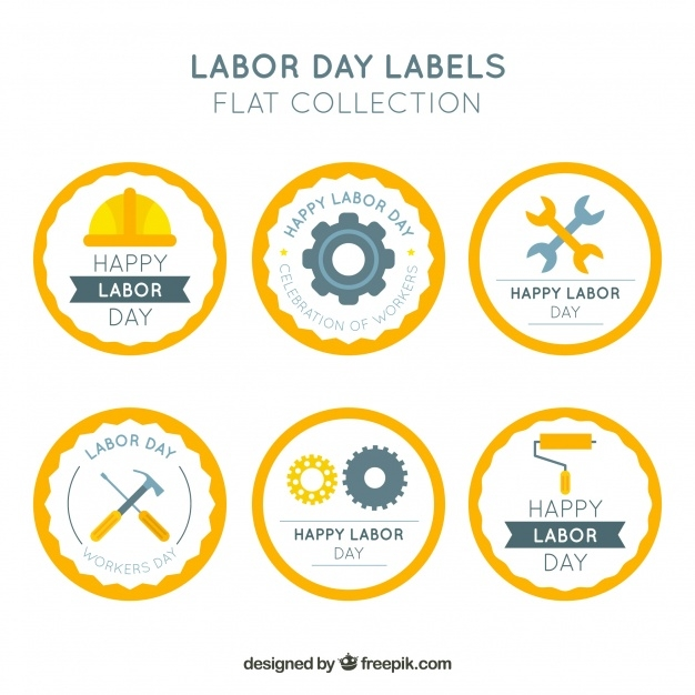 set-of-six-round-labor-day-stickers_23-2147655482