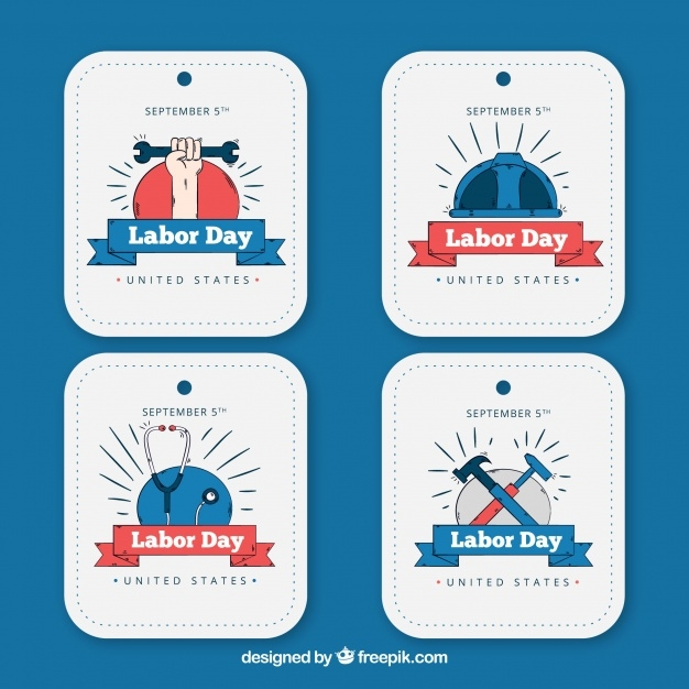 various-hand-drawn-labor-day-stickers_23-2147650553