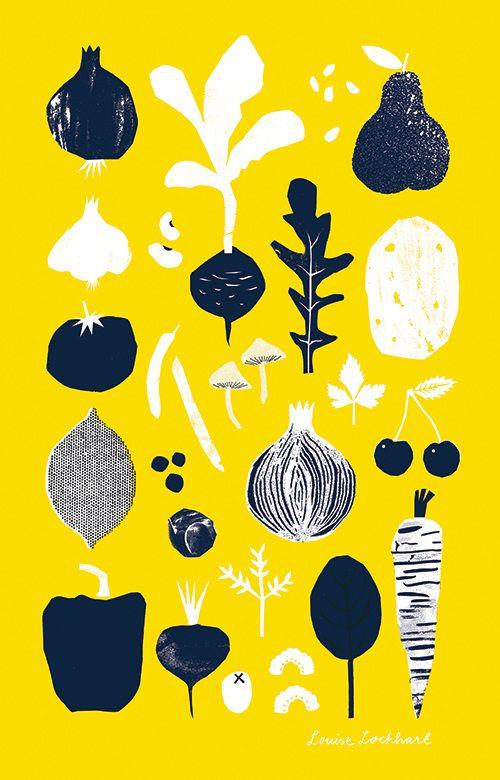 Vegetables & Fruits Illustration