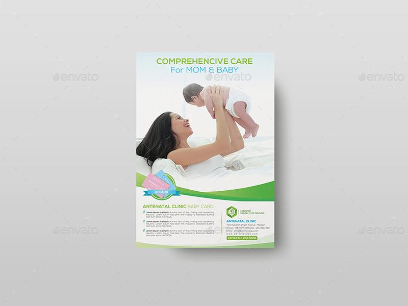 01_Paediatric-Medical-Flyer Template -01