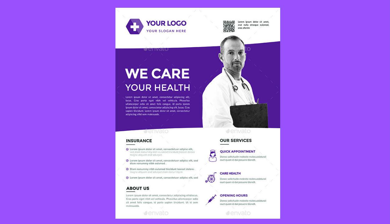 medical flyers templates