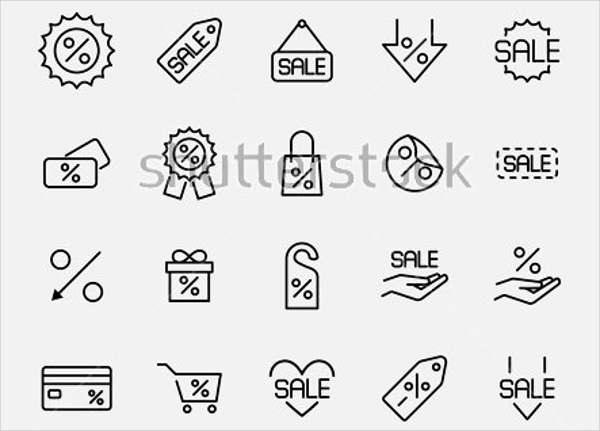 20 High-quality Fine Line Icons