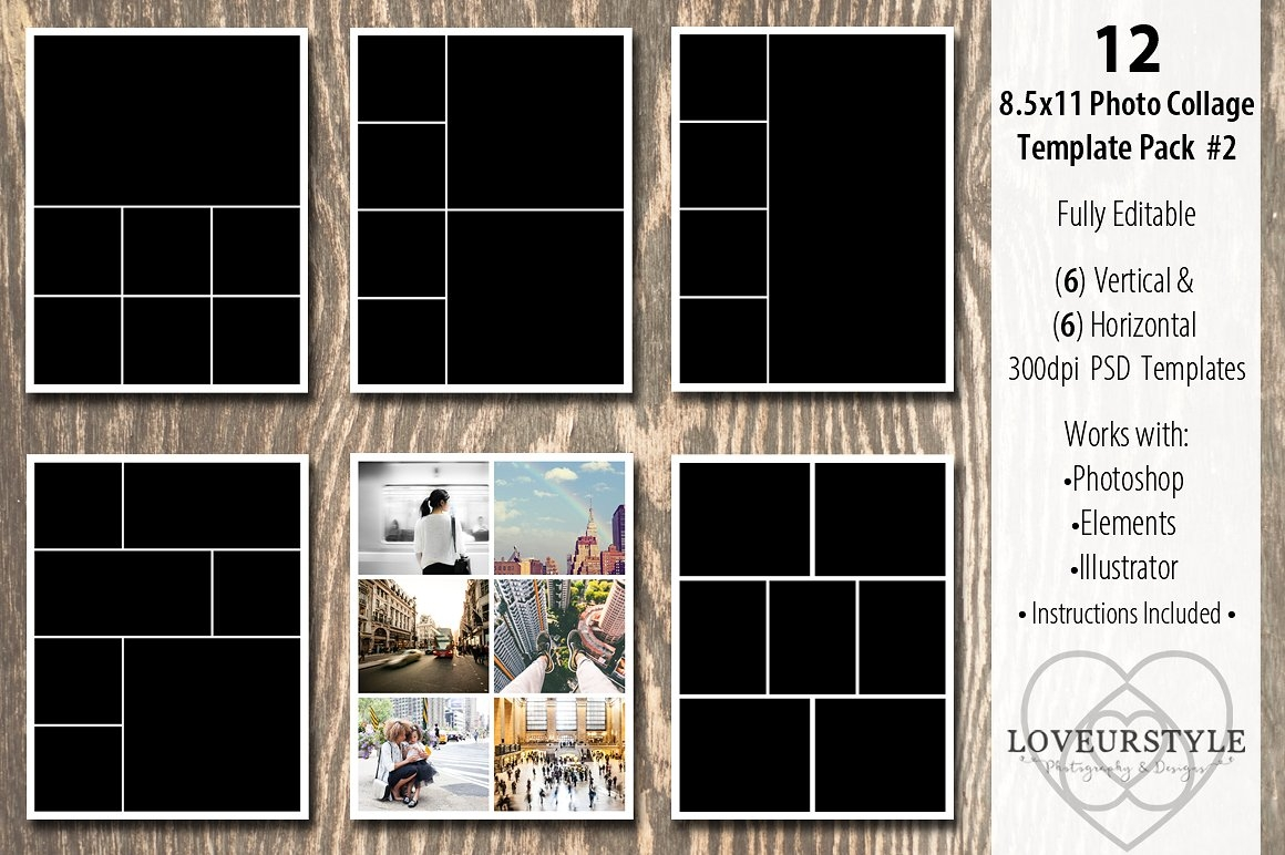 8.5x11 Photo Album Template
