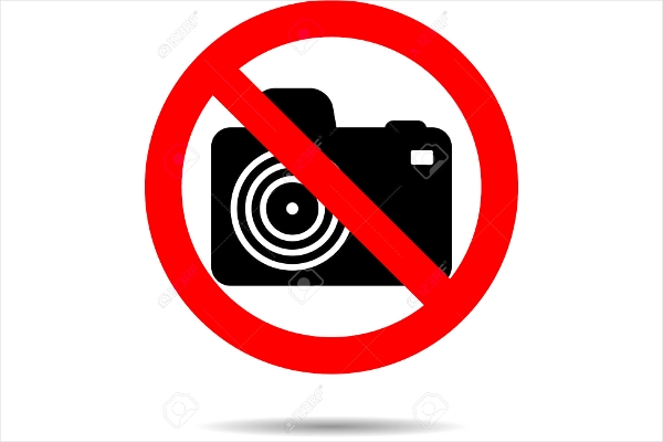 Ban Photo Icon Design