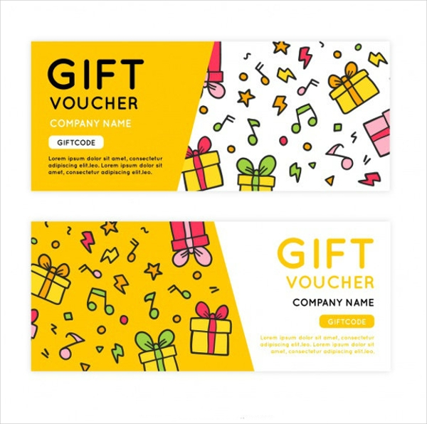 Bright & Decorative Gift Vouchers