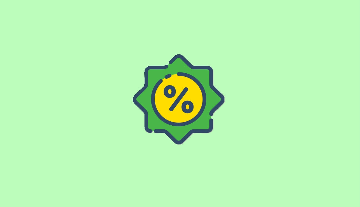 Discount Shopping Icon