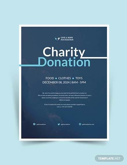 free 26  designs for donation flyers in ms word