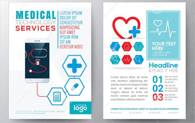 Health Care medical flyer design