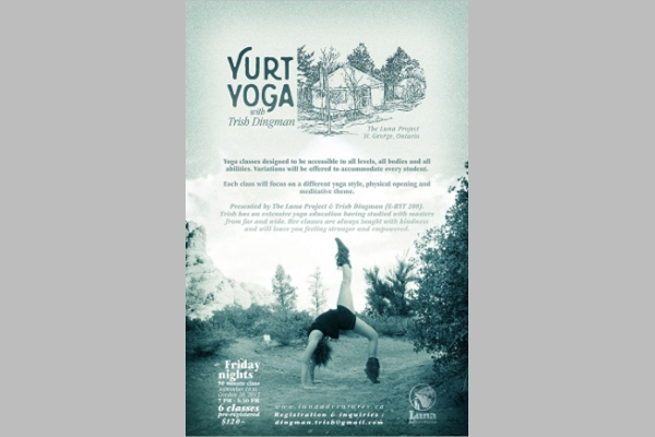 Luna Adventures Yoga Instruction Promotional Materials