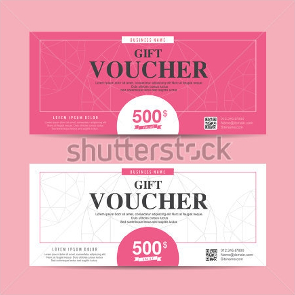 Minimal and Modern Design for a Gift Voucher