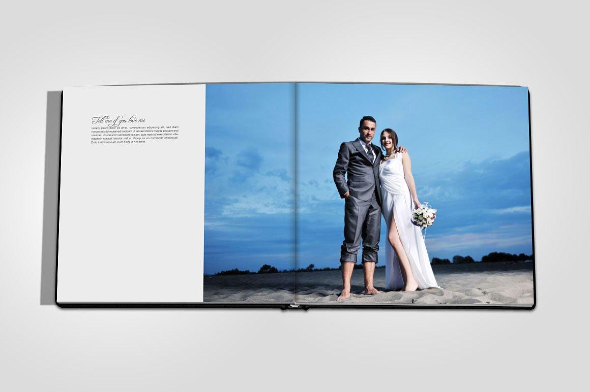 Wedding Photo Album Mock-up_